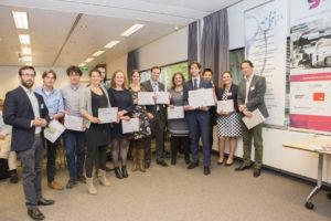 Genomineerden en de winnaar Doelmatigheidsprijs 2017