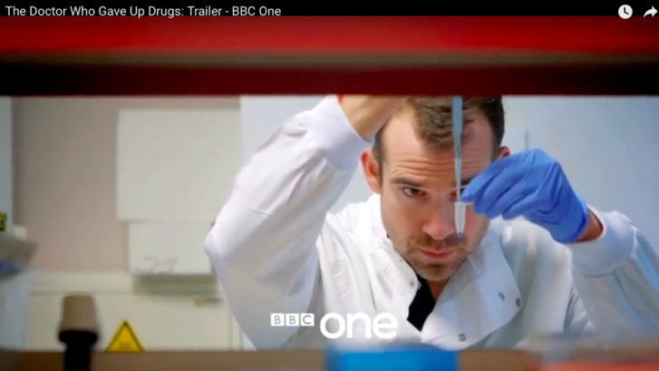 The doctor who gave up drugs - BBC One