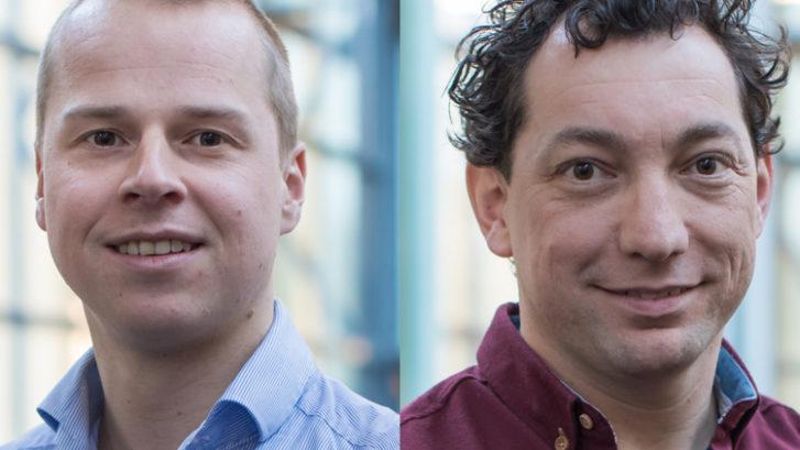Albert van Houten en Stijn van Gennip, aios orthopedie in de Regionale OpleidingsGroep Orthopedie Oost