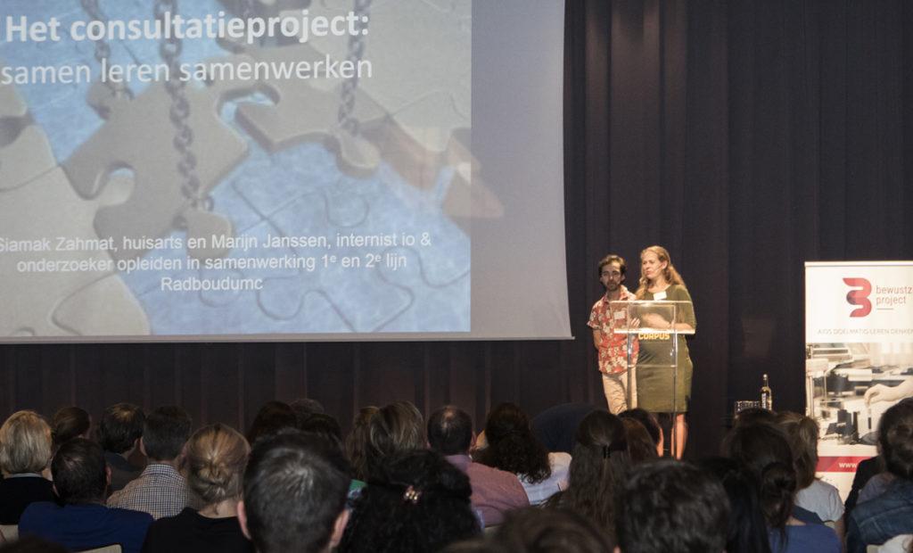 Marijn Jansen en Siamak Zahmat - Symposium Doelmatigheid van Zorg 2018