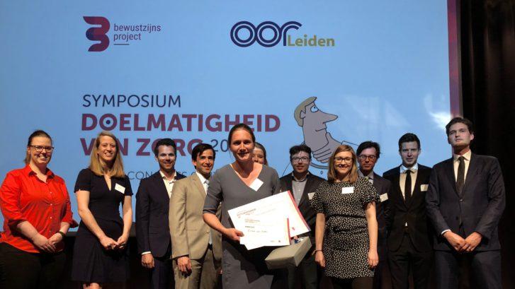 Aios Evelien van Eeten wint de Doelmatigheidsprijs 2018
