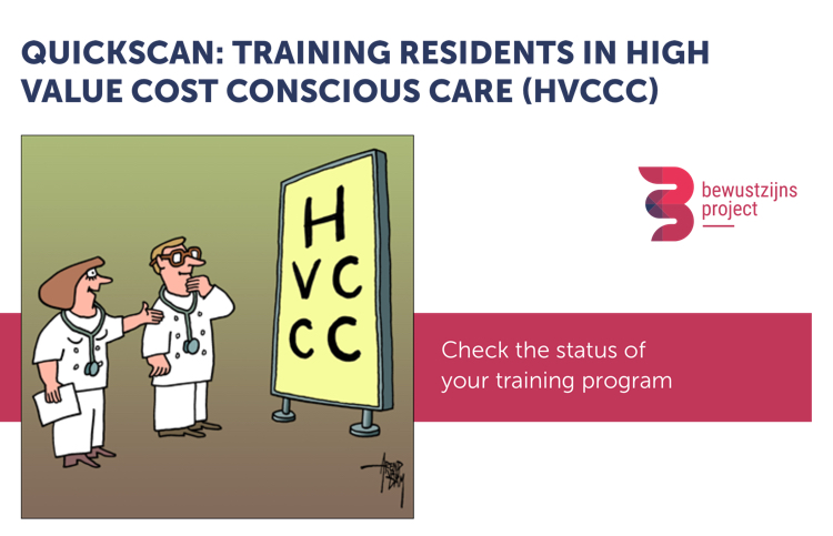 Quickscan training residents in HVCCC